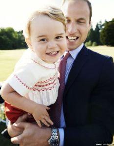 Prince George turns 2. Photo by Mario Testino
