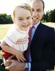 Prince George turns 2. Photo by Mario Testino