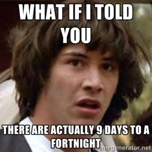 Keanu fortnight